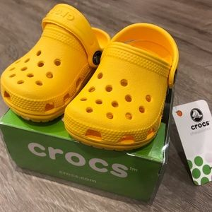 Other - BNWT Baby Crocs